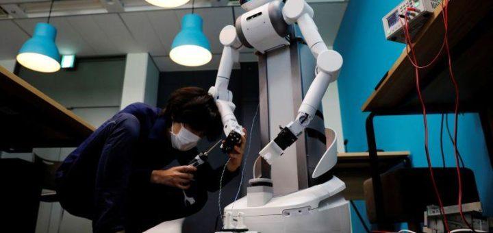 Robô japonês encontra lugar em combate ao coronavírus